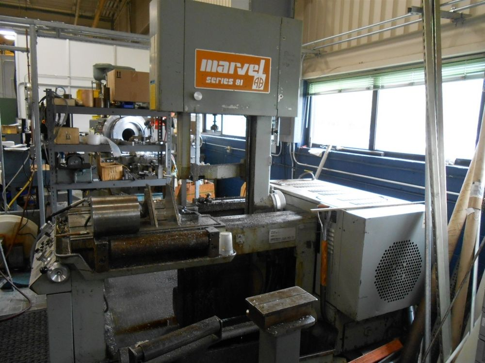 Marvel Series 81 Vertical Band Saw Model 81 9 M1 Fully