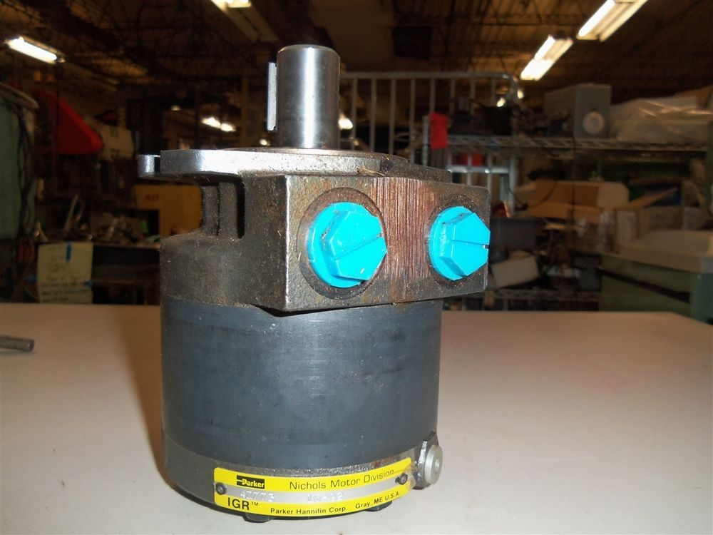 PARKER NICHOLS Low Speed High Torque Hydraulic Geroter Motor