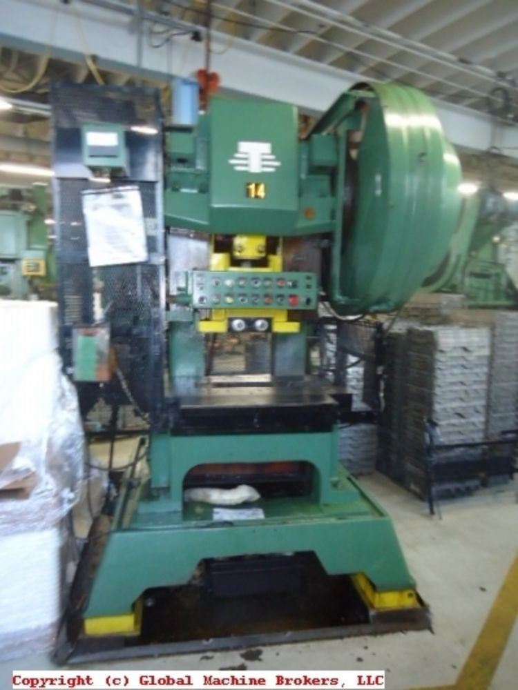 V Amp O 60 Ton Obi Flywheel Press Air Clutch And Peterson Roll