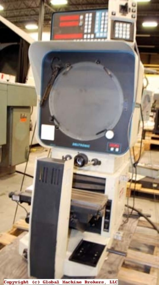 Power Tool Rental >> DELTRONIC MODEL DH-214 OPTICAL COMPARATOR