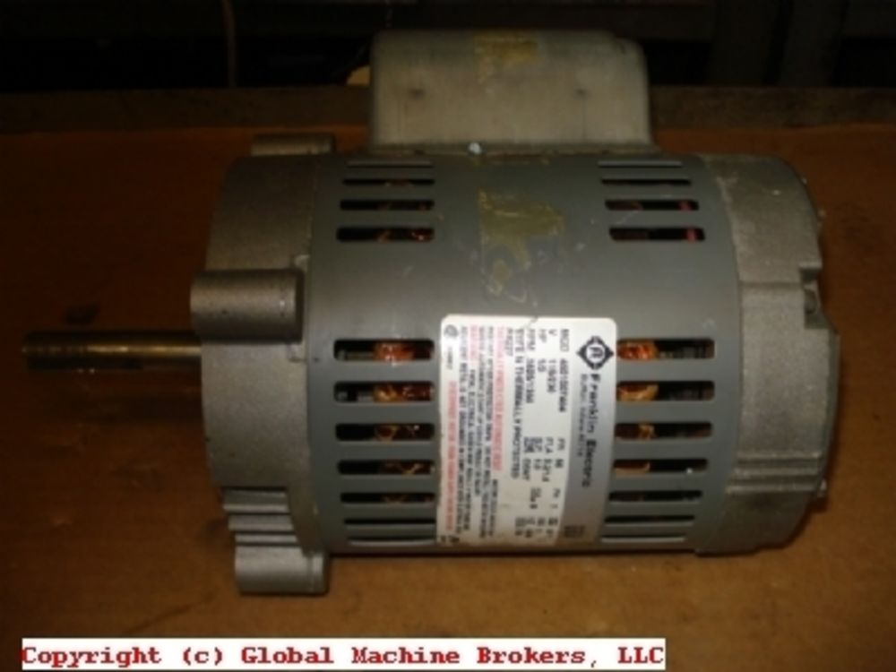 Franklin electric blower motor 115 230v 1 3 hp single for 3 hp single phase electric motor