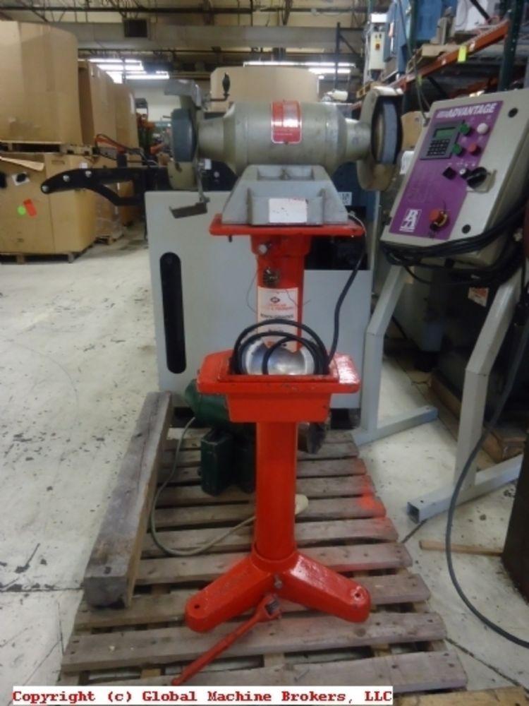 blue point bench grinder with pedistal bg 3330