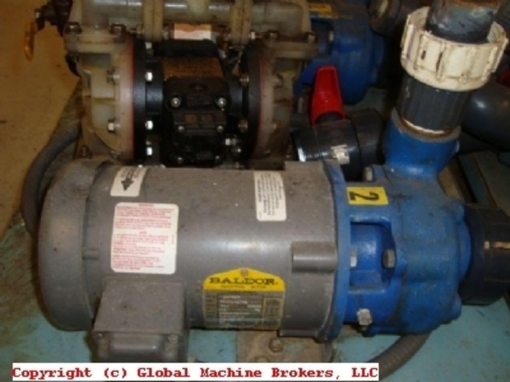 1 2 hp pump w baldor motor 208 230 460 volt 3 phase for Baldor 2 hp single phase motor