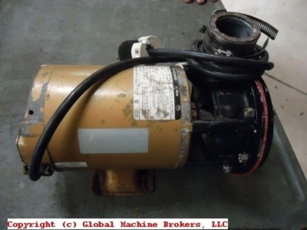 Westinghouse 1 hp ac motor w 2 pump 115v single phase for Westinghouse ac motor 1 3 hp