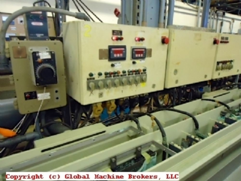 Reel To Reel 35 Cell Strip Plating Line