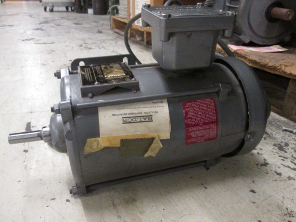 Baldor 1hp 115 230 Volt 1ph 3450 Rpm Electric Motor In