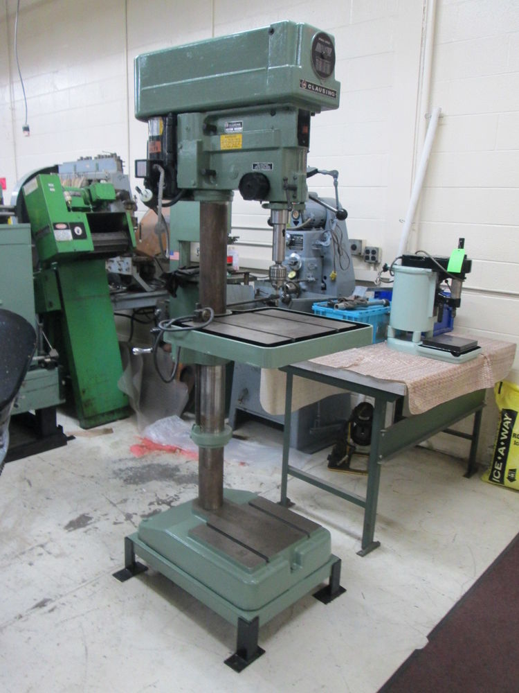 Clausing Belt Driven 1-1/2Hp 120 Volt 1Ph Drill Press W 18