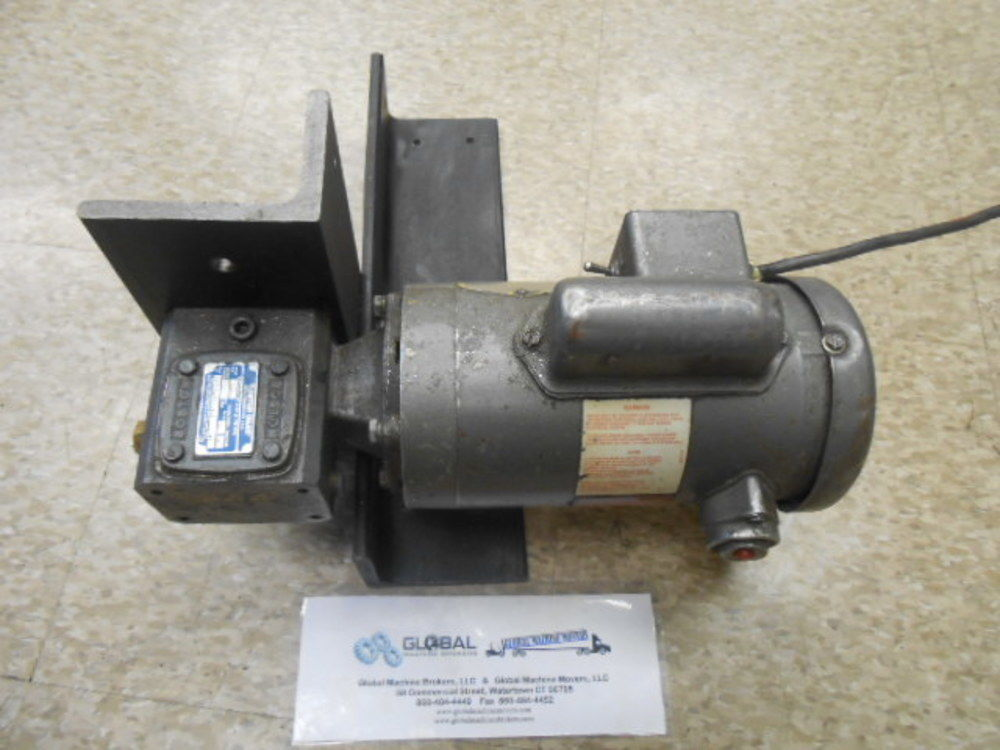 Dorner 33 1162 1166 motor w boston gear f710 10 b4 h Dorner motor