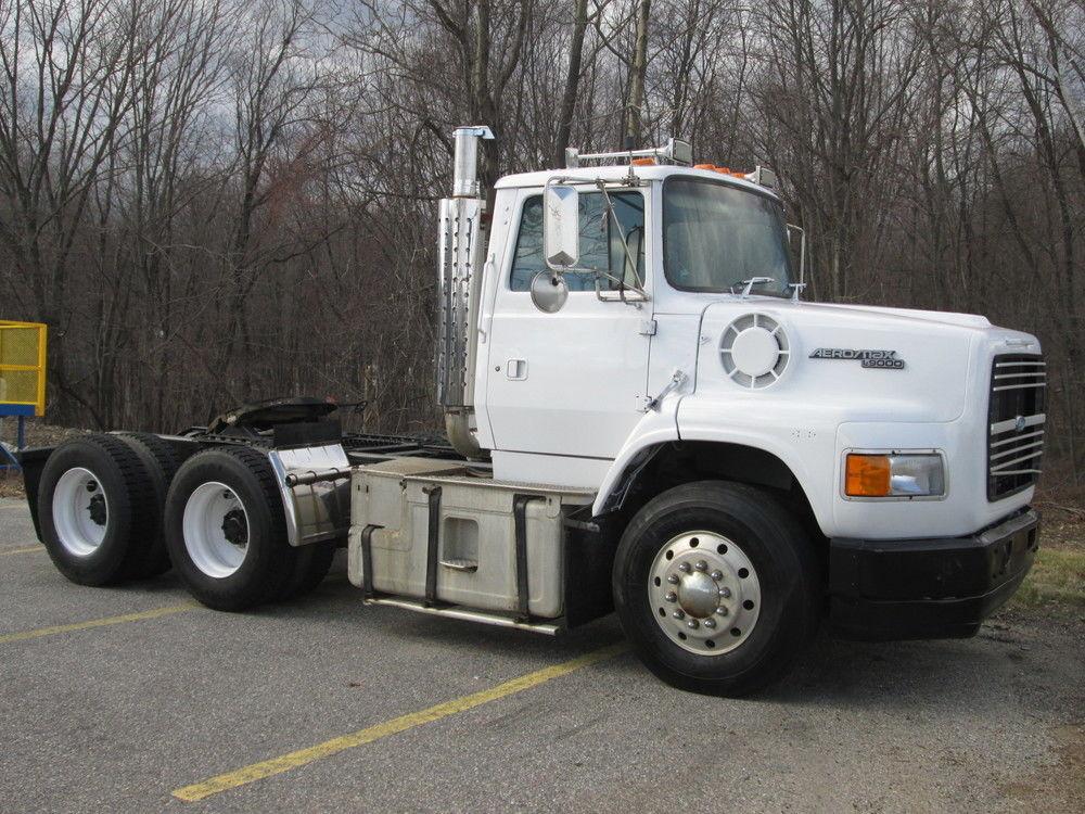 Semi Tractor Accessories : Ford l semi tractor new parts refurbished to