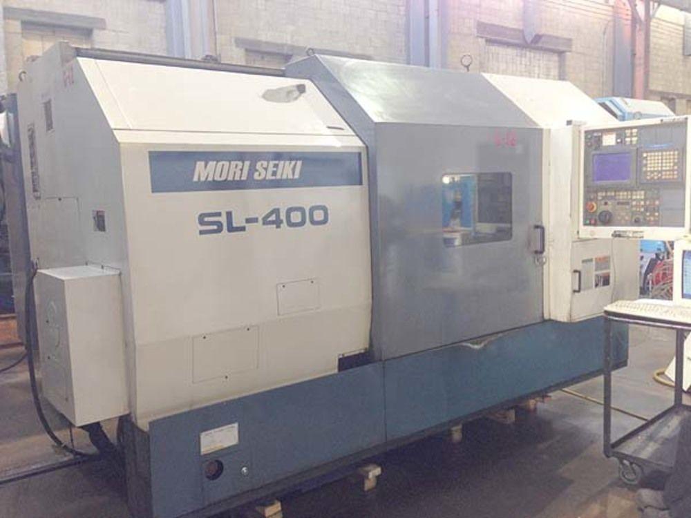 Mori Seiki SL-400 CNC Turning Center 40Hp 230V 3Ph W/Mori