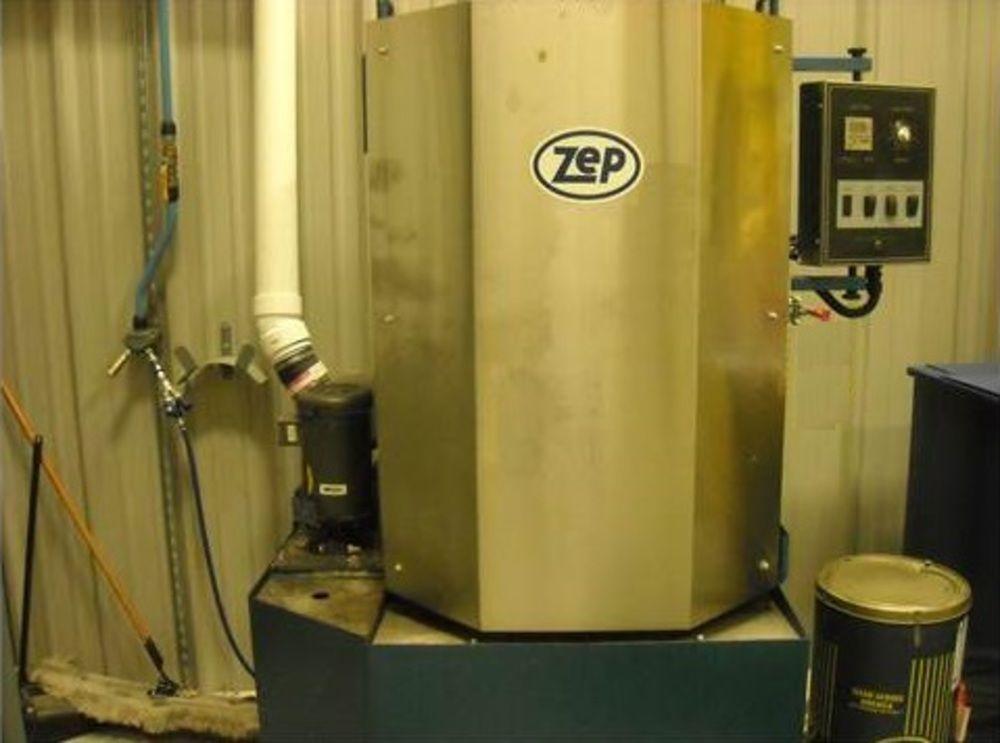 Zep 2085E 85 Gallon 3Hp 230V 1Ph Rotary Parts Washer 1500