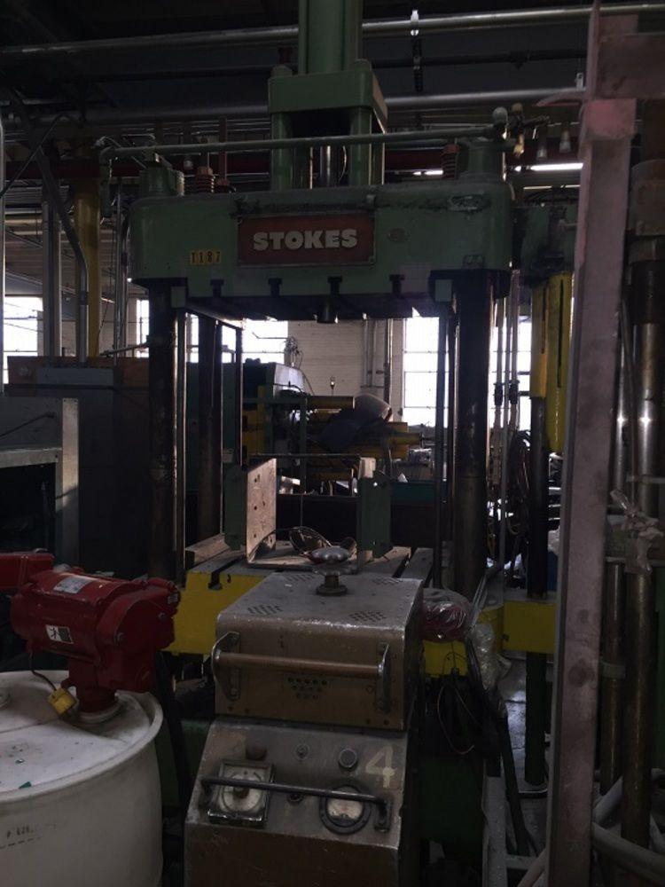 Stokes 150 Ton 3ph Auto Compression Press W Hopper Amp Pump