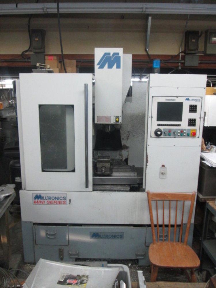 Milltronics Mini Series Partner Rw12 Vmc Cnc W 10 Position