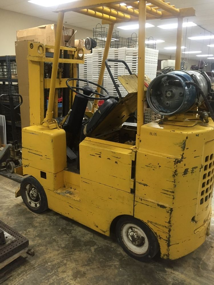 Allis-Chalmers 3,000Lb Capacity Propane Powered Forklift, 40