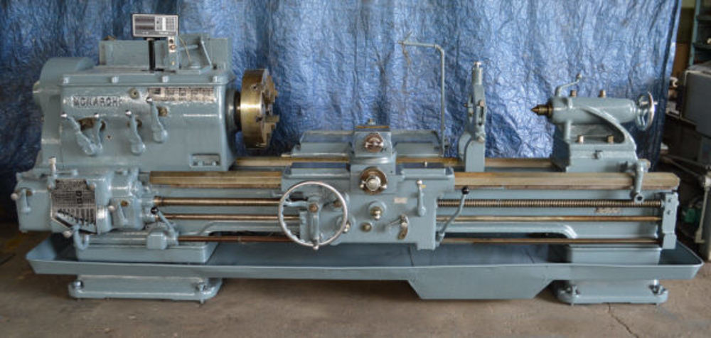27 5 Quot X 72 Quot Monarch 20cm Engine Lathe W Taper Attachment