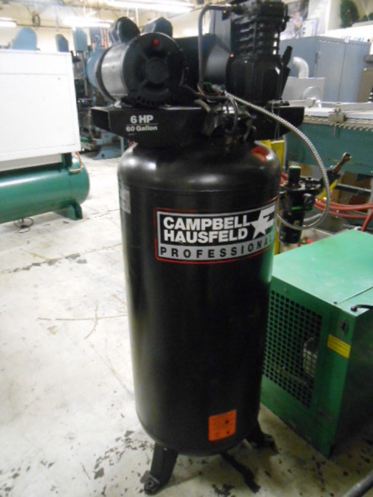 Campbell Hausfeld VT619502AJ Air Compressor, 6HP, 60 ...