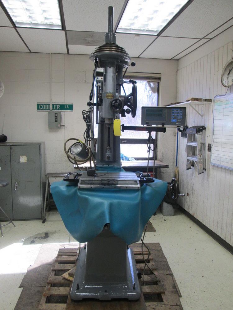 Moore Model 1 Jig Borer 12hp 220v 3ph Wmitutoyo Digimatic