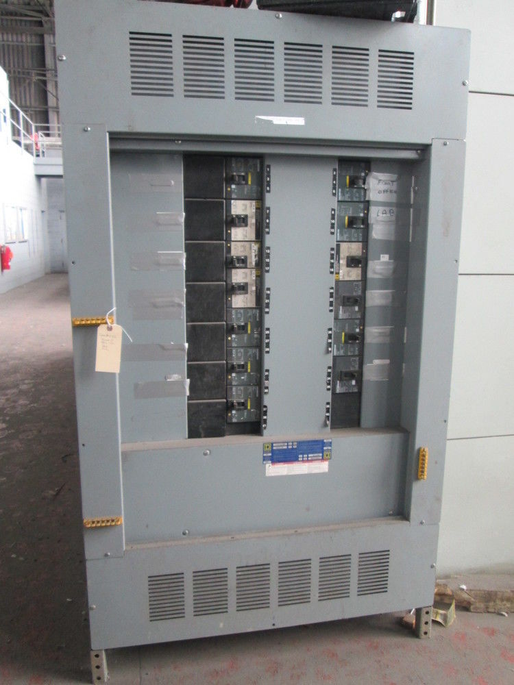 Square D Hcl I Line Panel Board 800 Max Amp 3 Ph 40