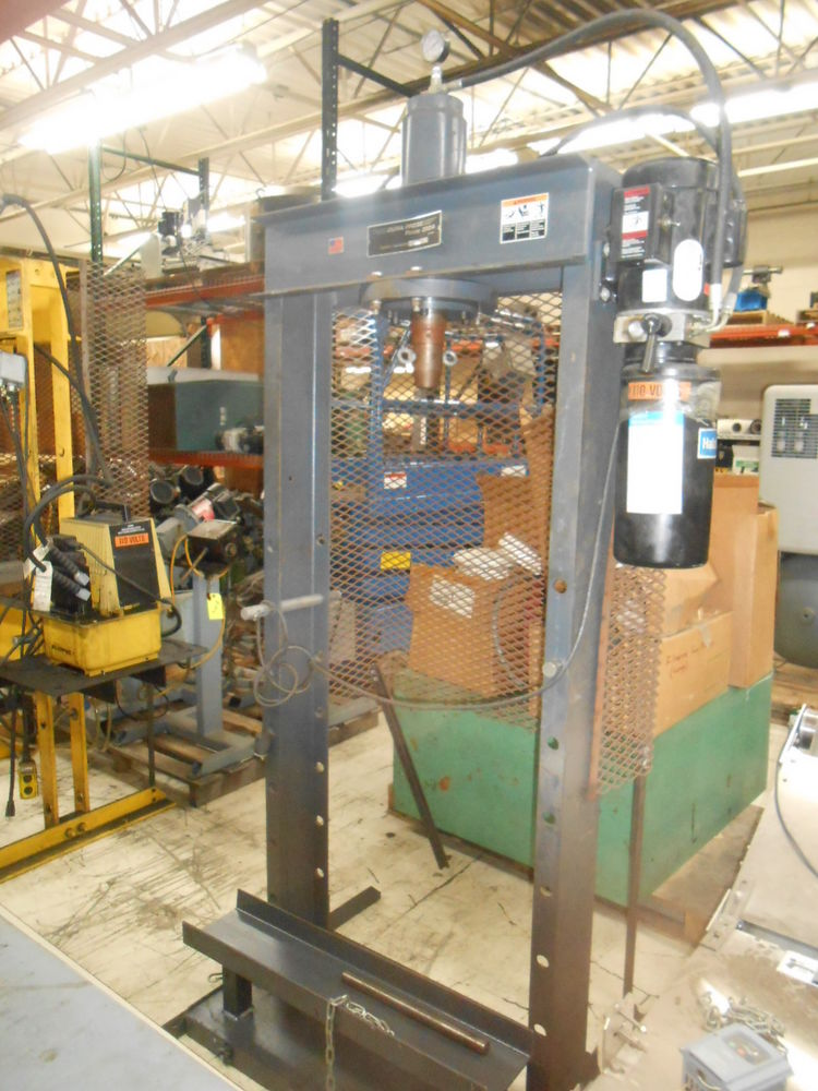 Dake Dura Press Force 25da 10 Quot Stroke 25ton 1hp 115v 1ph