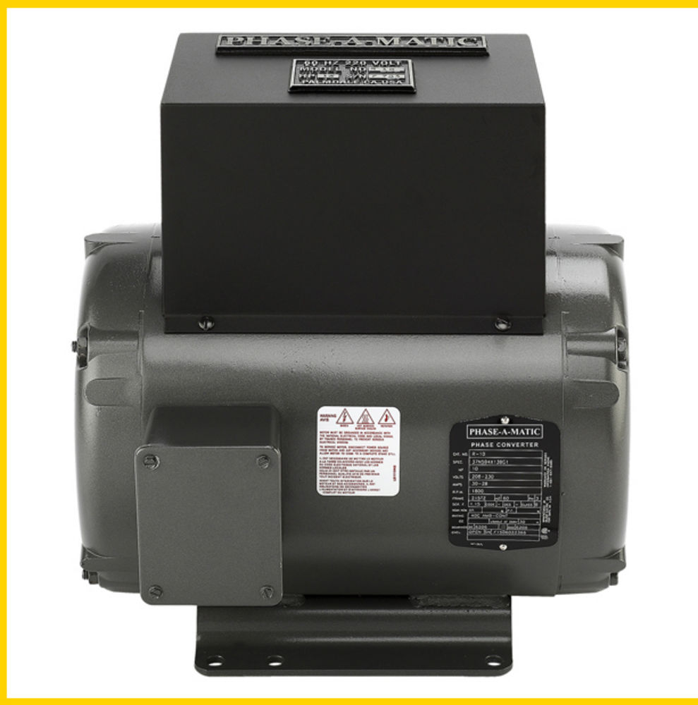 Phase A Matic R 10 220v 10hp Rotary Converter New For Sale