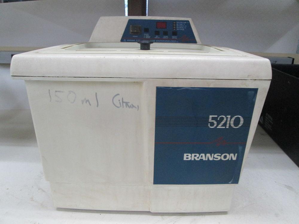 Branson 5210 ultrasonic washer for sale for Branson 5210