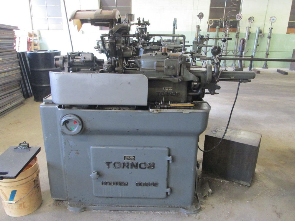 Tornos R125 1 2 Quot Belt Driven Swiss Screw Machine W 5 Cross