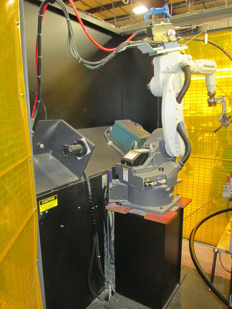 Panasonic TA-1000 Welding Robot W/Jet Line Engineering NEC