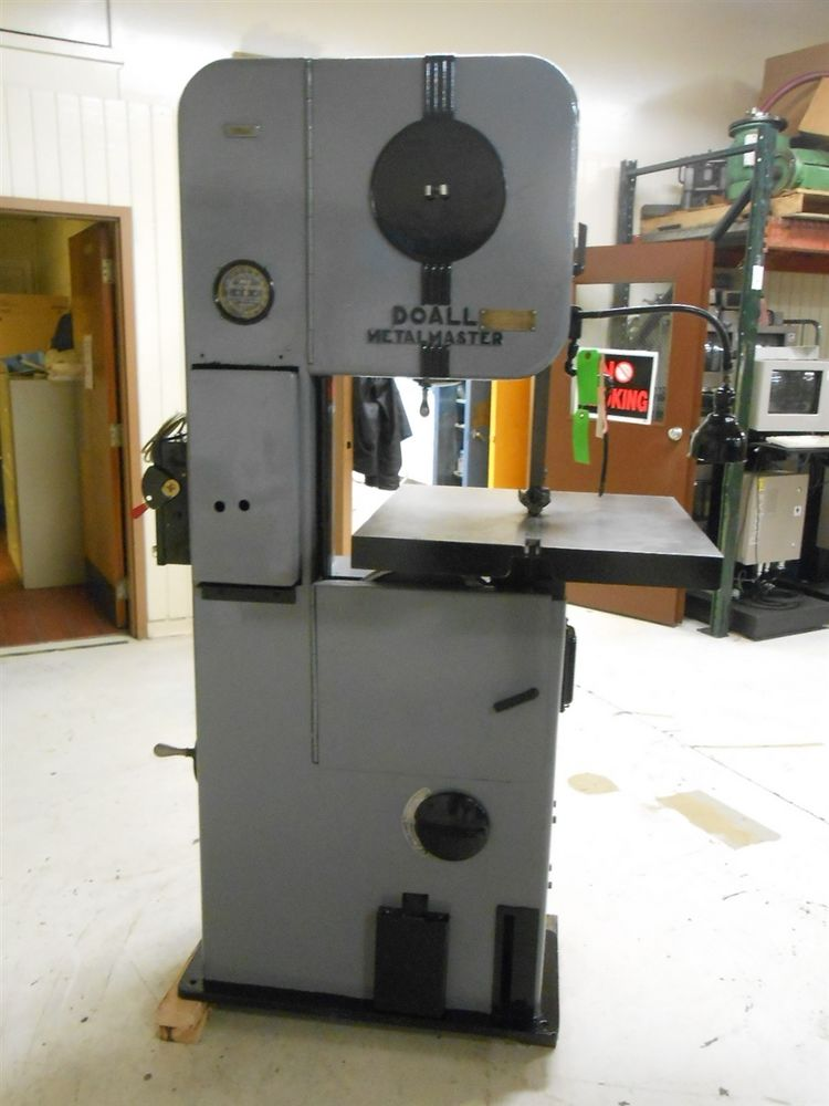 Doall Metal Master Vertical Band Saw Great Condition