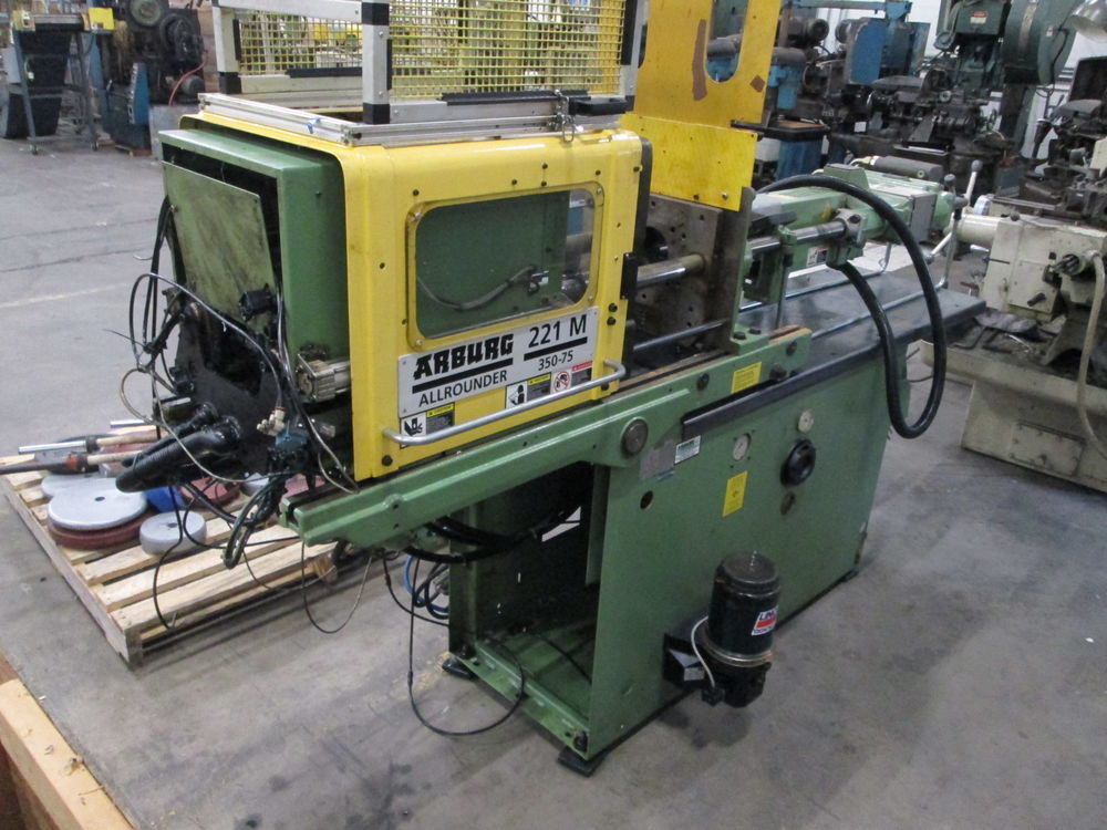 Arburg Allrounder Model 221M 350-75 40 Ton Injection Molding Machine