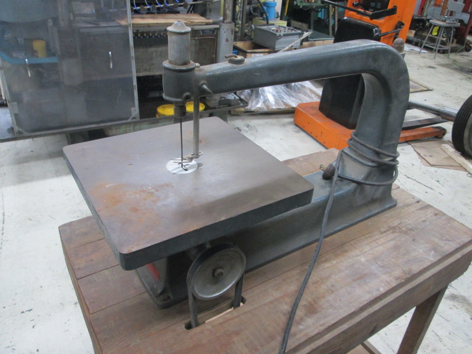 """Model 103.0407 18/"""" 1//4/""""Hp 110 Volt 1Ph 800-1000 Spm Jig Saw Details about  /Sears Roebuck Co"""
