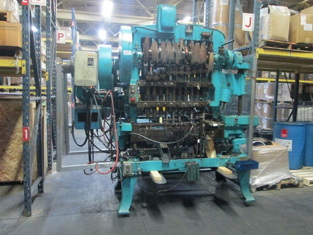 Waterbury Farrel 1510 Icop 10 Hp 3 Ph Transfer Press W