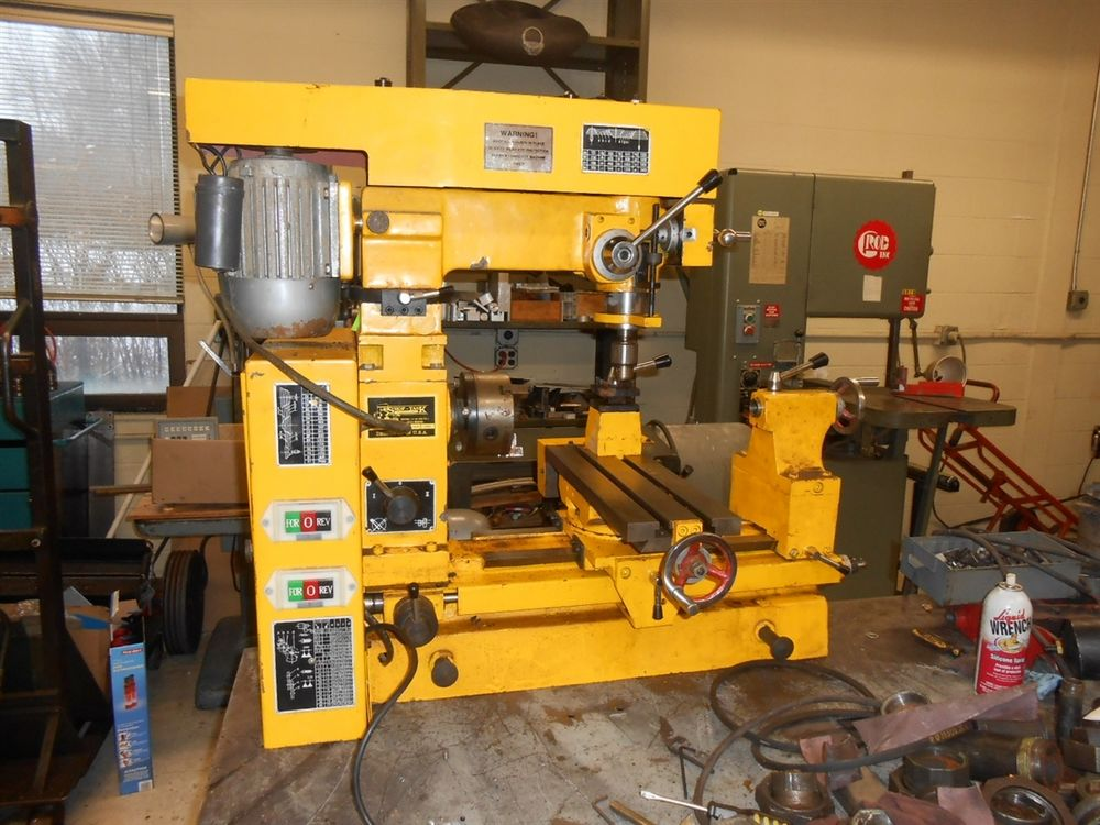 Shop Task Mill Lathe Drill