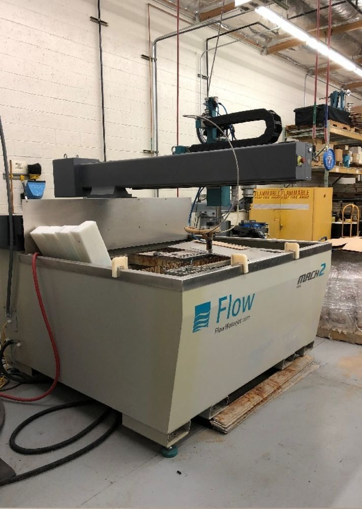 Flow Model Mach 2 1313B Precision Z-Axis Conventional Water