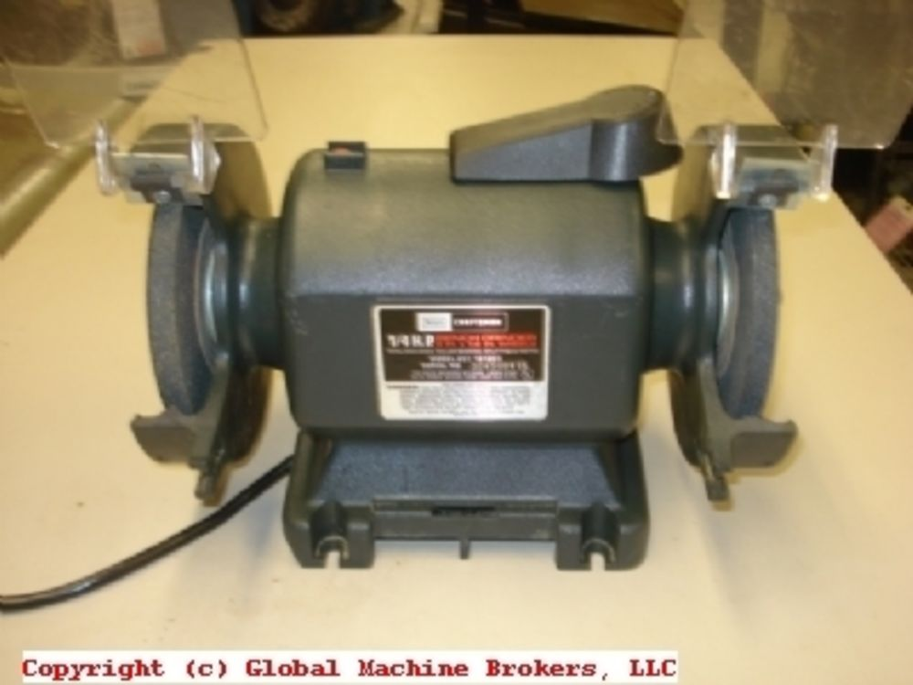 Enjoyable Sears Craftsman 1 4 Hp Bench Grinder Evergreenethics Interior Chair Design Evergreenethicsorg