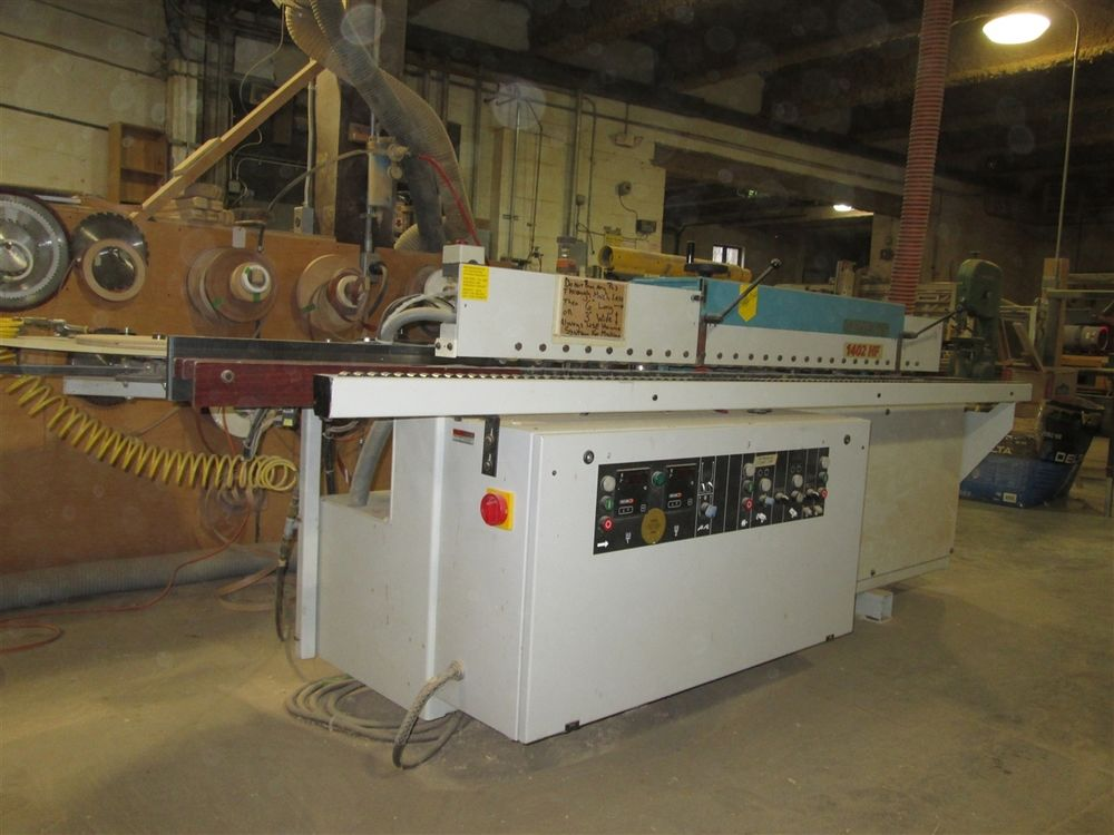 HOLZ-HER 1402 HF AUTOMATIC EDGE BANDER WITH OPTIONAL P C S